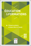 Éducation et formations n°88-89