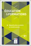Éducation et formations n° 91