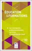 Éducation et formations n° 92