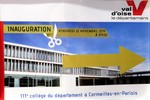 inauguration collège Louise Weiss Cormeilles en P
