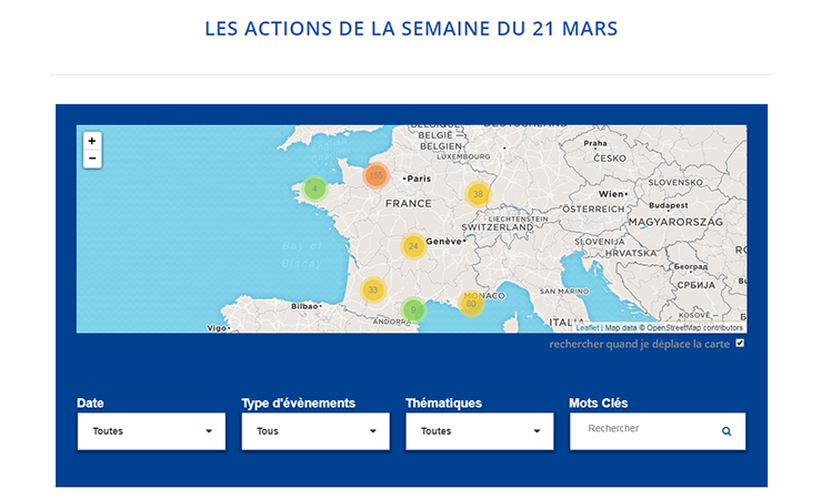 actions semaine 21 mars Dilcrah