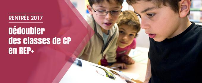 Dédoubler des classes de CP en REP+