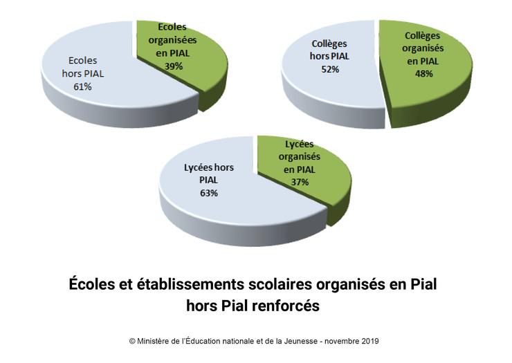 DP ecole inclusive - repartition PIAL