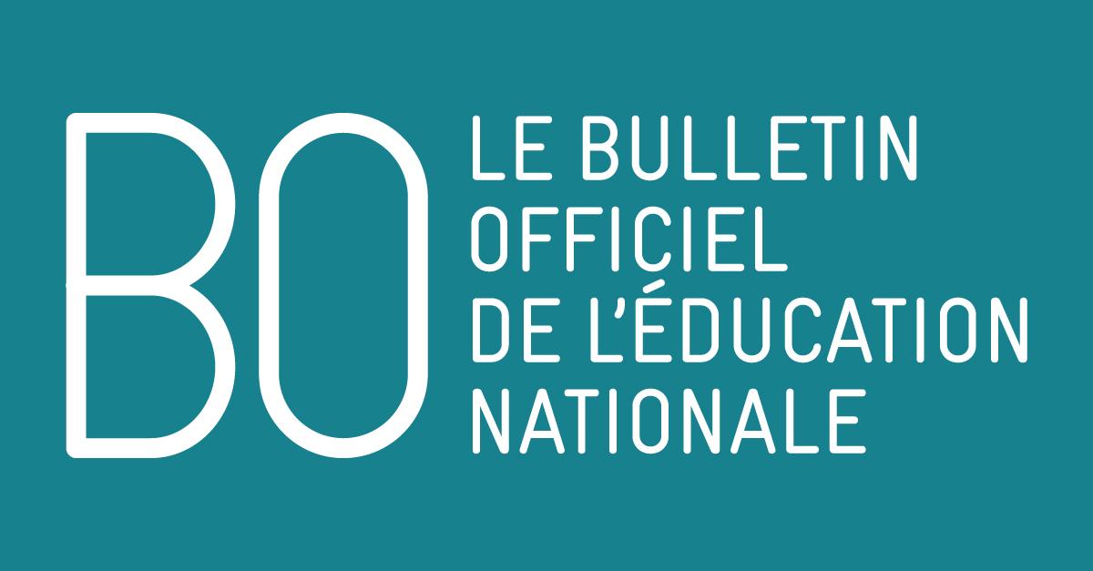 Calendrier Paiement Education Nationale 2019.Le Bulletin Officiel Ministere De L Education Nationale Et