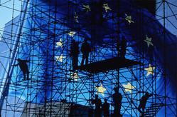 Europe-échafaudage