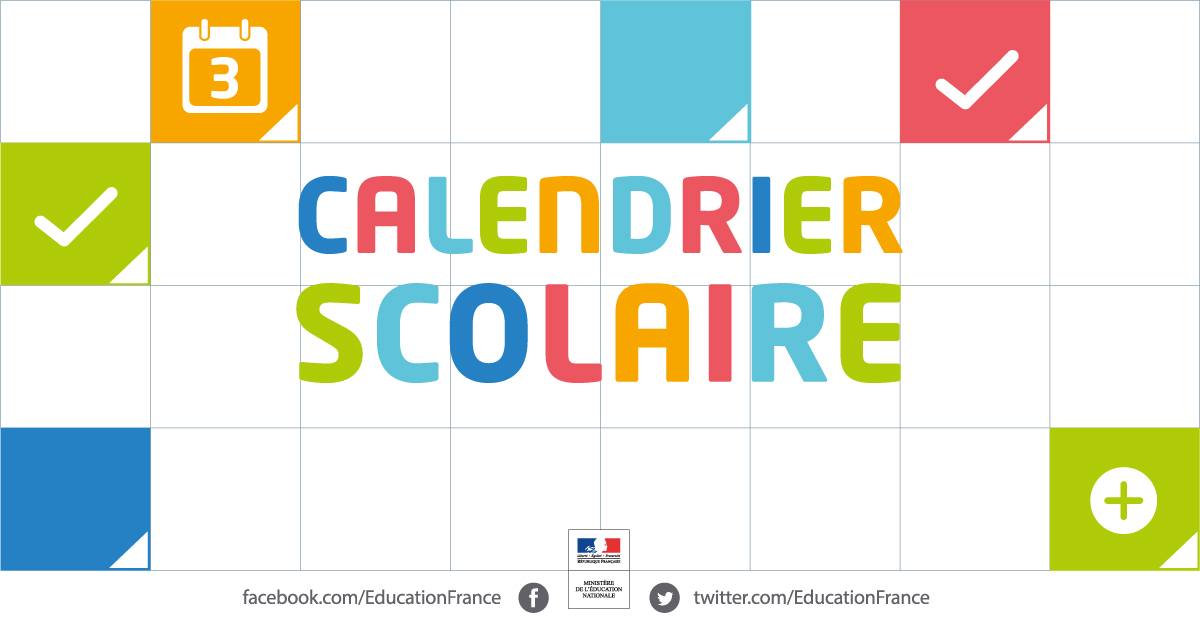 Calendrier Scolaire 2019 2020 Excel.Le Calendrier Scolaire Ministere De L Education Nationale